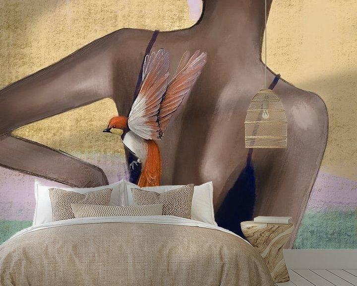 Sfeerimpressie behang: Vrijheid van JessyRonner