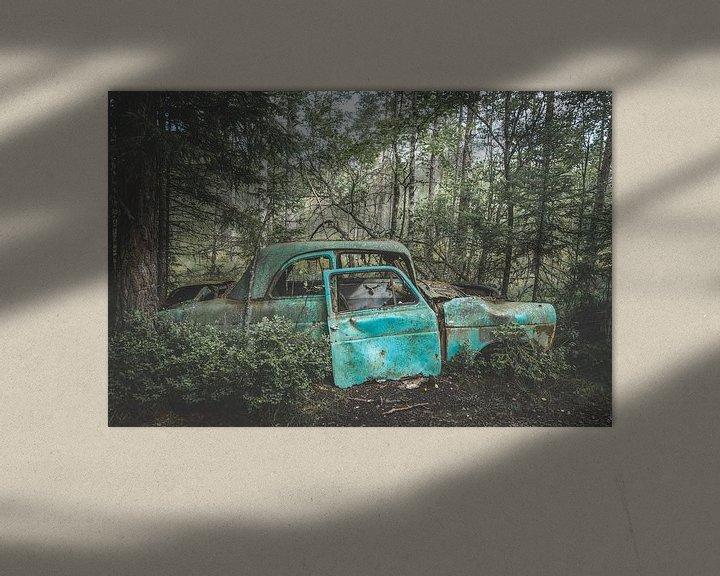 Sfeerimpressie: Autowrak van Sam Mannaerts