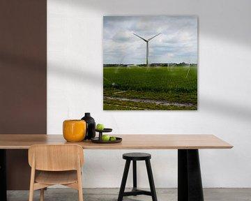 Wind turbine gebouwd op landbouw in Petten (Noord-Holland) van JGL Market