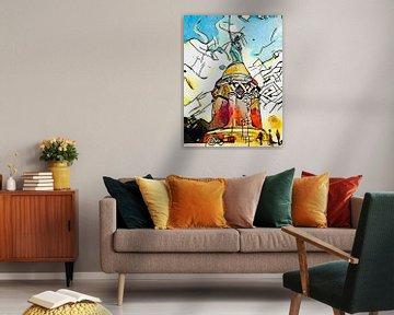 Kandinsky rencontre...Hermann Monument sur zam art