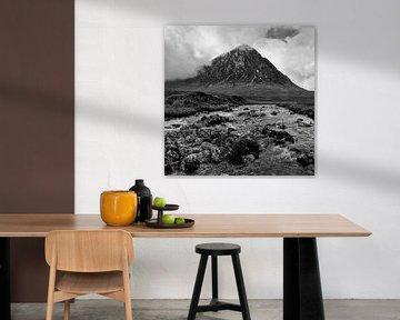 Buachaille Etive Mòr, Glen Etive, Schottland von Johan Zwarthoed