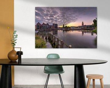 Paysage urbain de Zwolle