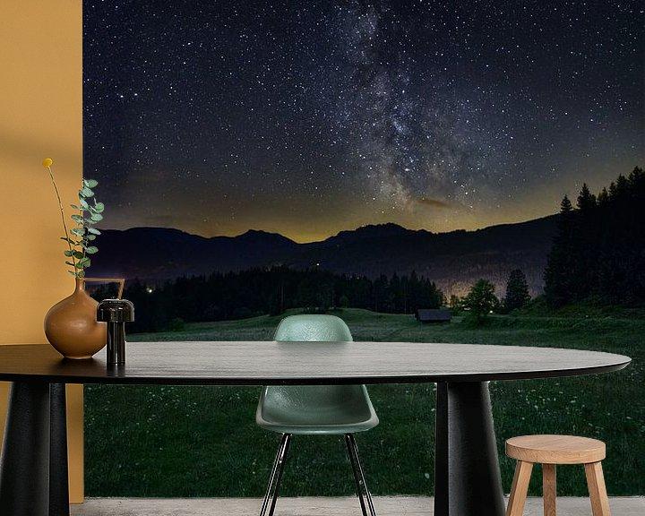 Beispiel fototapete: Milchstraße von Michael Wolf