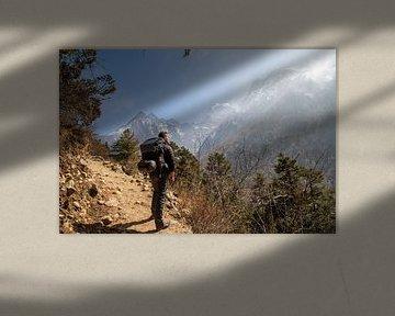 In 7 Tagen zum Basislager des Mount Everest von Ton Tolboom