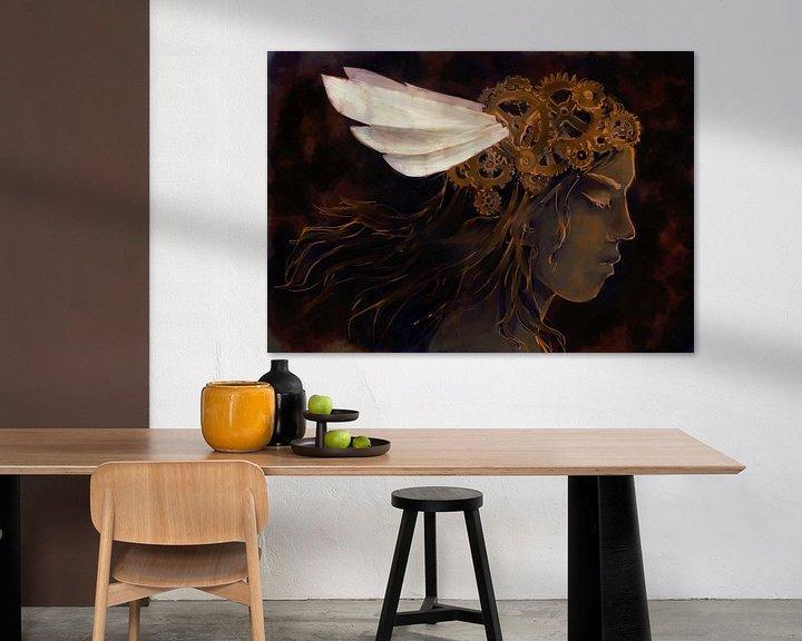 Sfeerimpressie: Tandwiel kroon van Petra van Berkum