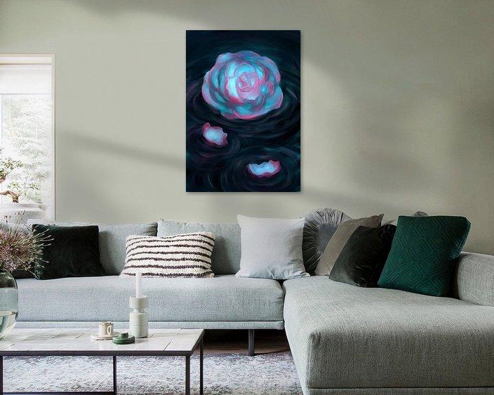 Sfeerimpressie: Tweekleurige Roos van Petra van Berkum