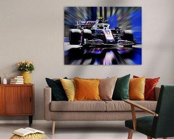 Mick Schumacher en Haas F1 van DeVerviers