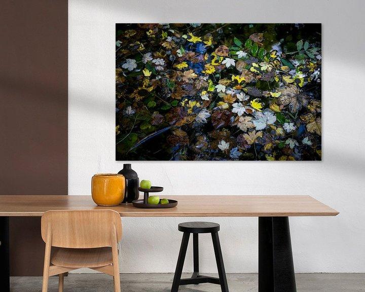 Sfeerimpressie: Herfst in het water van Meint Brookman