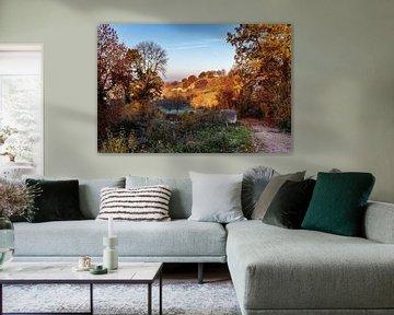 Herbst auf dem Bemelerberg von Rob Boon