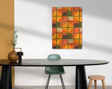 Geometrisches Muster von Mimi Paulusma