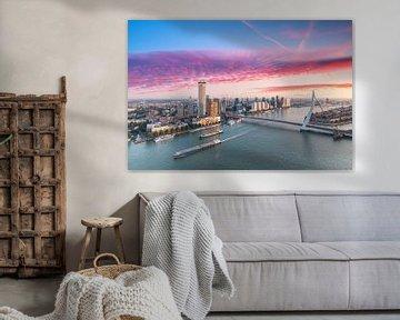 Rotterdamer Morgengrauen von Ilya Korzelius