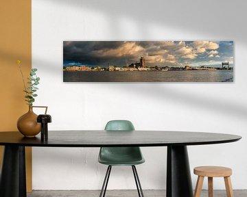 Panorama Dordrecht van Sander Poppe