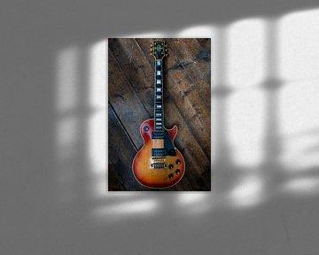 Gibson Les Paul Custom 1974 Cherry Sunburst Guitar sur Thijs van Laarhoven