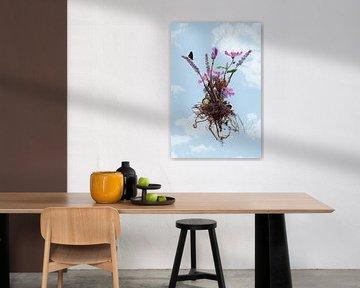 Flowers in de sky II van Klaartje Majoor