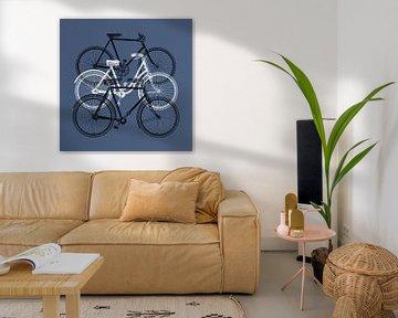 Meyers Bikes – on blue version