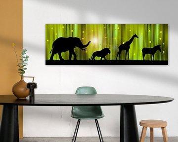 Afrikas Tierparade von Monika Jüngling