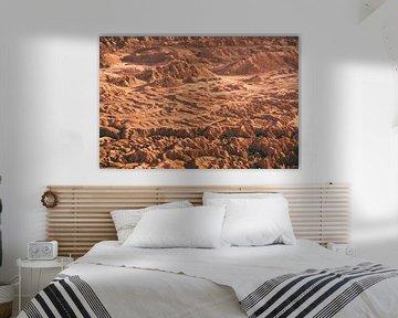 Zonsondergang in de Valle de la Luna in Chili van Shanti Hesse