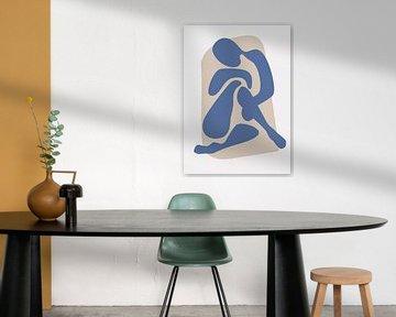 Abstract Woman van David Potter