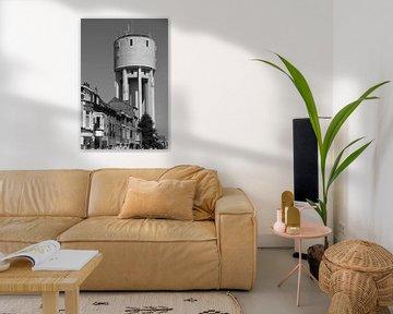 Watertoren Landmark, Aalst, België van Imladris Images