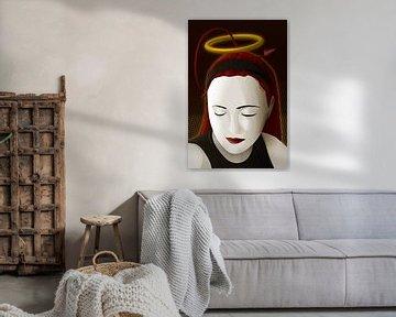 Heilige Maria von Sandra Höfer