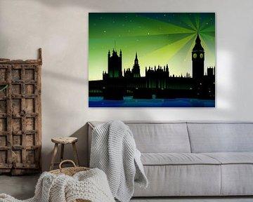 Buckingham Palace und London Big Ben von Sandra Höfer