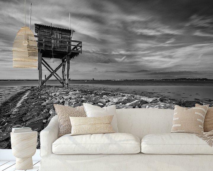 Sfeerimpressie behang: Duikplaats Scharendijke Grevelingenmeer van Rob van der Teen