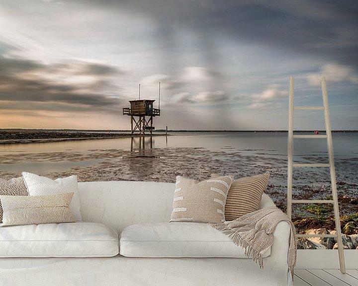 Sfeerimpressie behang: Scharendijke duikplaats van Rob van der Teen