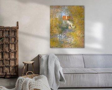 Die Gänse, Claude Monet