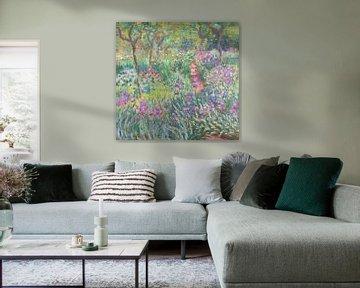 Der Garten des Künstlers in Giverny, Claude Monet