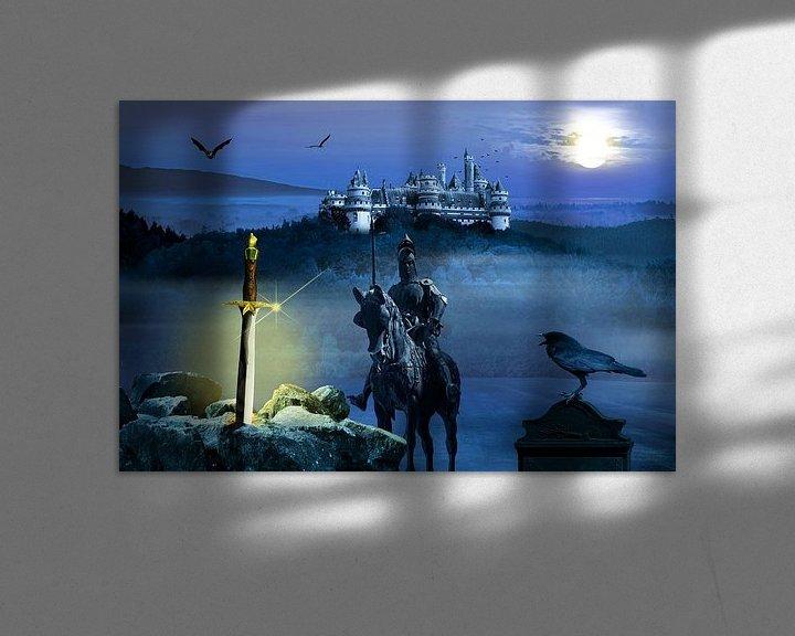 Sfeerimpressie: Camelot en het zwaard Excalibur van Monika Jüngling