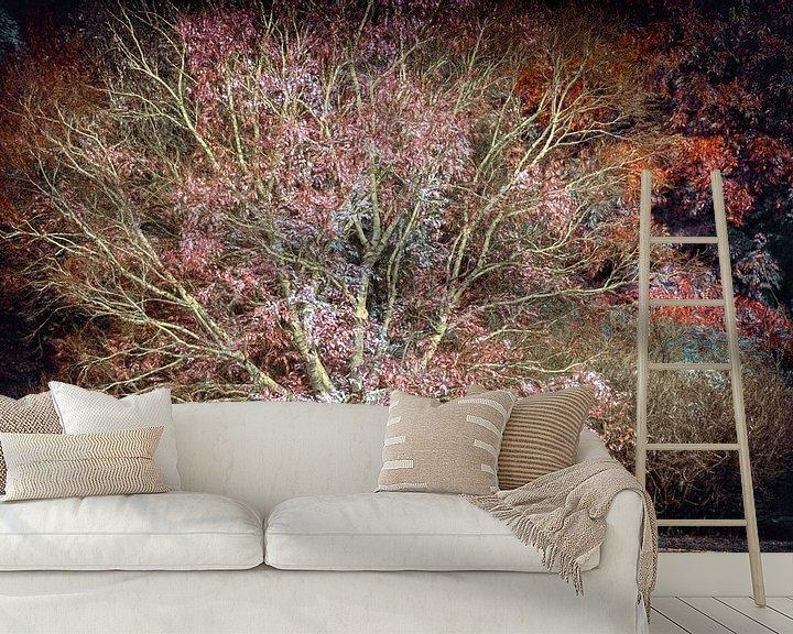 Sfeerimpressie behang: Toverboom van Lars van de Goor
