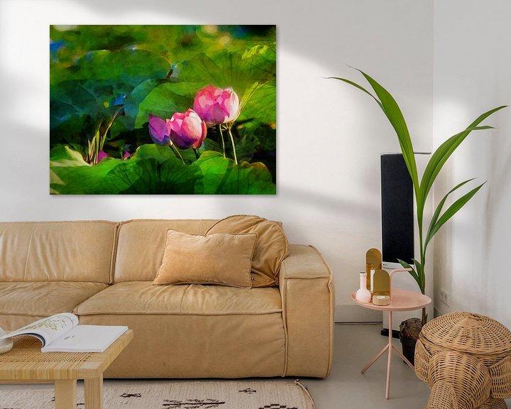 Beispiel: Water lilys 2021 von Andreas Wemmje
