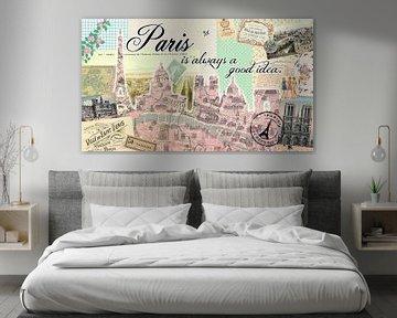 Paris is always a good idea von Green Nest