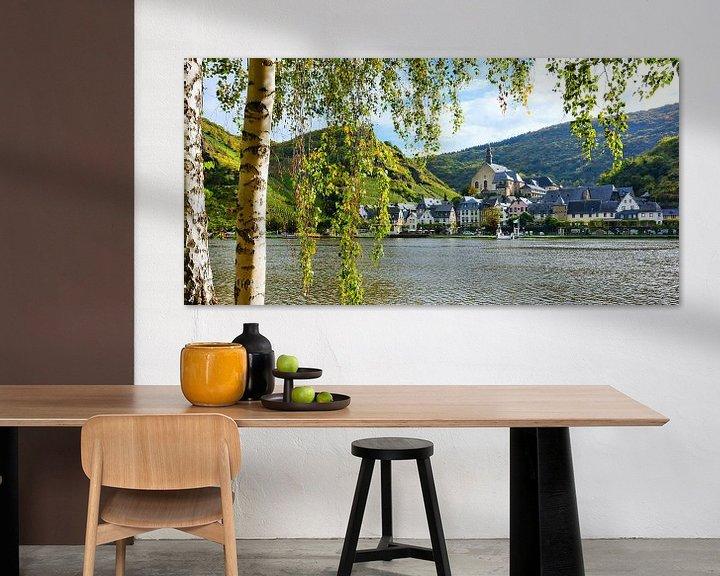 Sfeerimpressie: The Picturesque Wine Village Beilstein on the Moselle van Gisela Scheffbuch