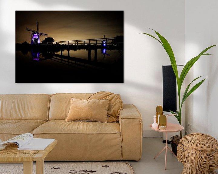 Impression: Windmills at Kinderdijk sur Mike Fortgens