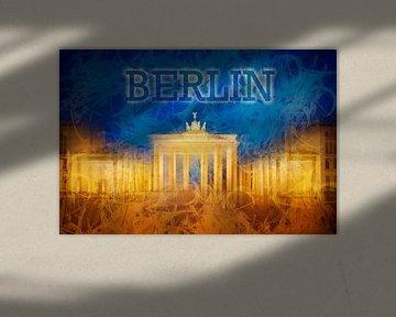 Digital-Art BERLIN Brandenburger Tor II von Melanie Viola