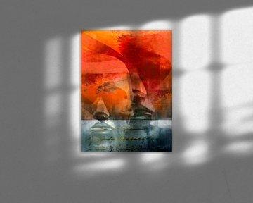 Words and faces van Gabi Hampe