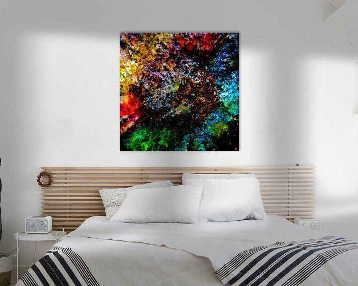 Sfeerimpressie: kleurrijk van Dick Jeukens