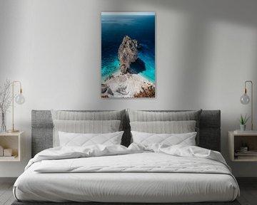 Malerische Aussicht auf Keri, Zakynthos von Rob van Dongen