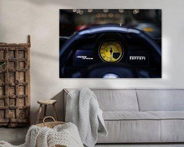 Dashboard Ferrari 488 Spider van joost prins