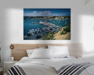 Lampedusa Hafen 3 von Elianne van Turennout