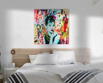 """Audrey Hepburn """"Menschen von Kathleen Artist Fine Art"""