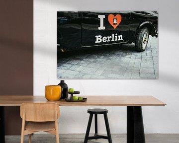 I Love Berlin van Patrycja Polechonska