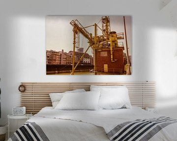 Silokraan Handelshaven Düsseldorf van Michael Ruland