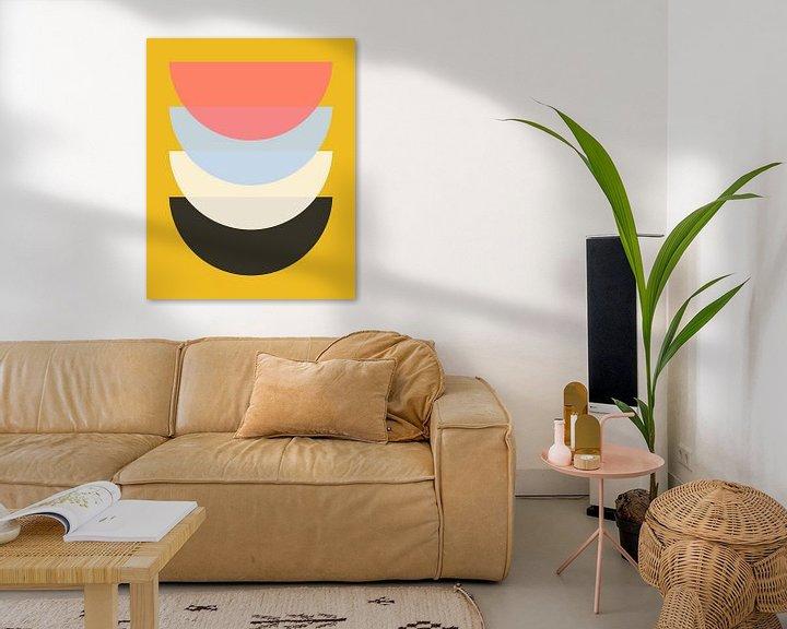 Beispiel: Schüssel auf Gelb von Patrycja Polechonska