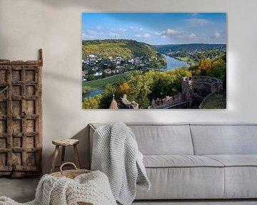 Wertheim, een mooi klein stadje in Duitsland van Guenter Purin