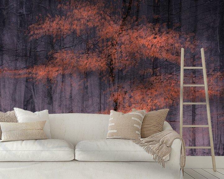 Sfeerimpressie behang: Deep autumn van jowan iven