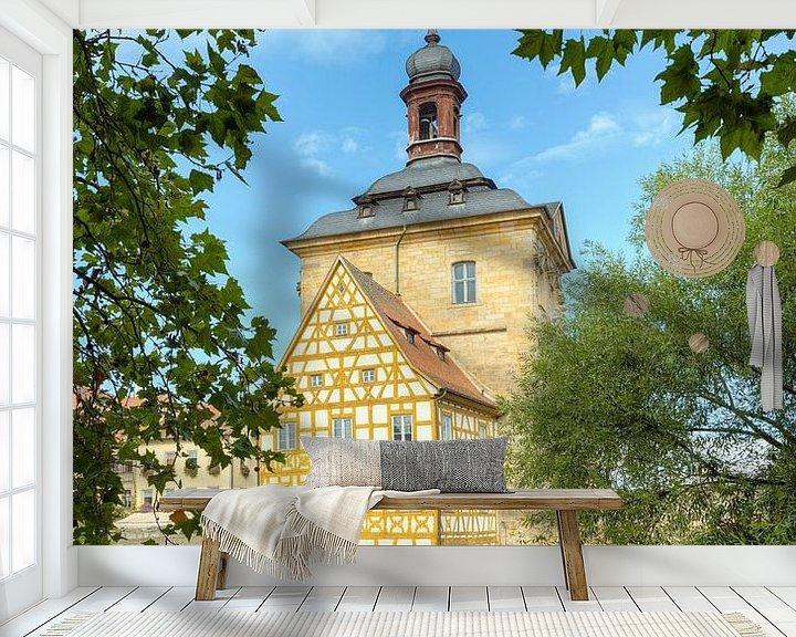 Beispiel fototapete: Altes Rathaus Bamberg von Michael Valjak