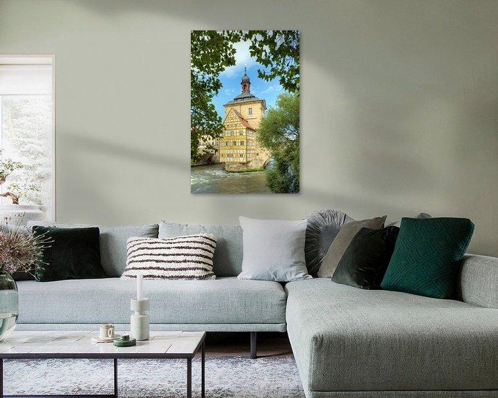 Beispiel: Altes Rathaus Bamberg von Michael Valjak