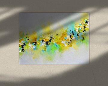 Gelbe Blumen von Maria Kitano